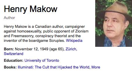 Image result for Henry Makow